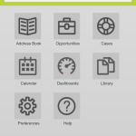 Maximizer CRM mobile screenshot