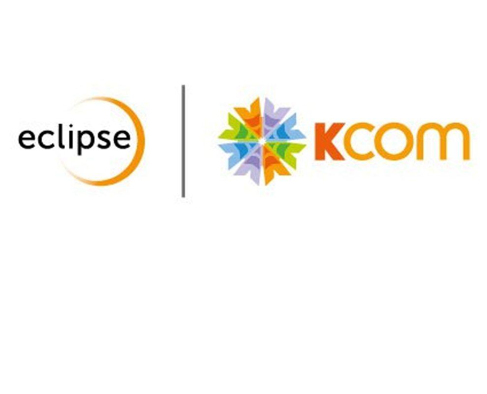 Eclipse and Kcom logos