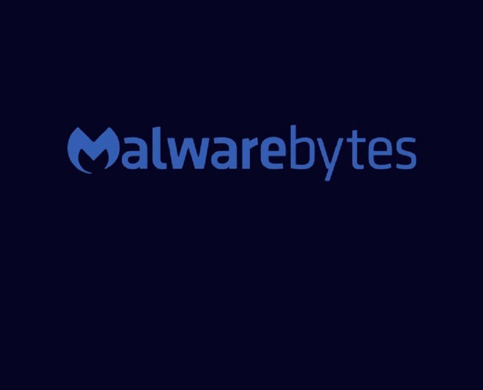 Malwarebytes Logo on black background